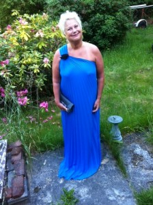 Jude Neale  Blue Gown