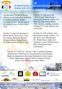 Celebrate The 4th World Poetry Festival new